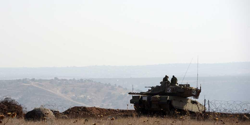 Израильско-сирийская граница. Фото: Гиль Элиягу