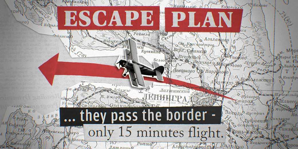 samolet 2 escape plan OPERATION WEDDING- Designed by Armands Blumbergs