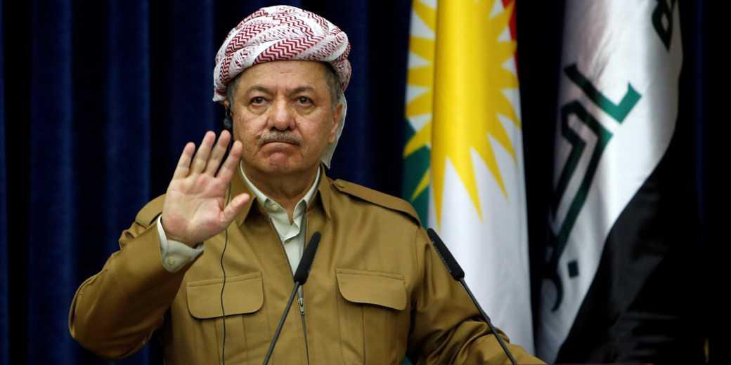 Массуд Барзани, президент автономного региона Иракский Курдистан. Фото: Azad Lashkari, Reuters
