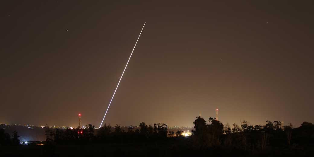 Gaza Sderot Raketa 490269 Ilan Asayag