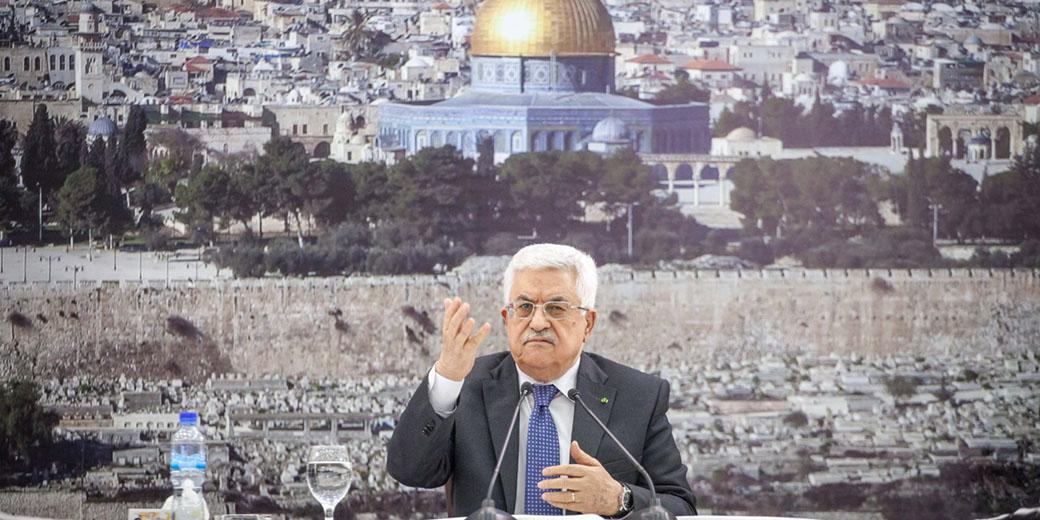 אבו מאזן ועיתונאים ישראלים