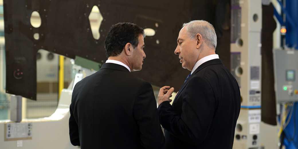 D1169-049_Yossi_Cohen_Bibi_Kobi_Gideon_GPO