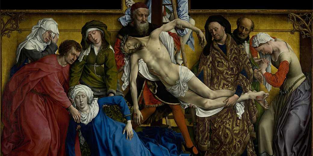 Descendimiento_Rogier_van_der_Weyden_Prado