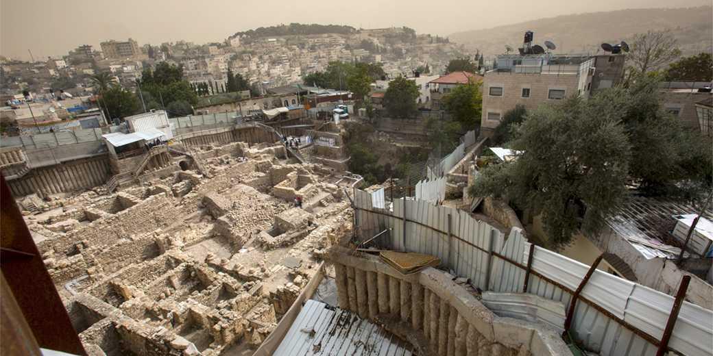 Раскопки в Иерусалиме. Фото: Оливье Фитусси