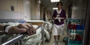 Хаос в приемном покое больницы «Вольфсон»