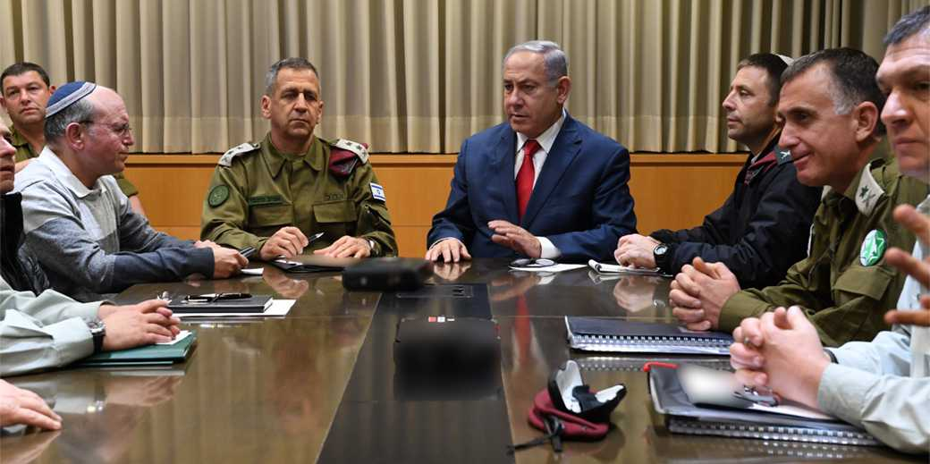Bibi_Briefing_14_3_19_Army_press_service_Ariel_Hermoni