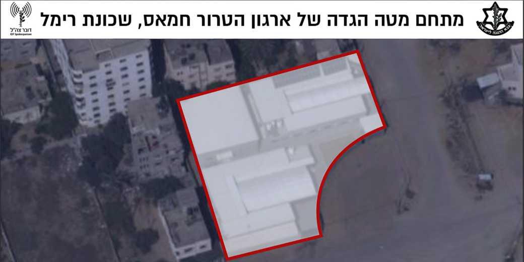 Terror_headquarters_Judae_Samaria_IDF_spokesperson