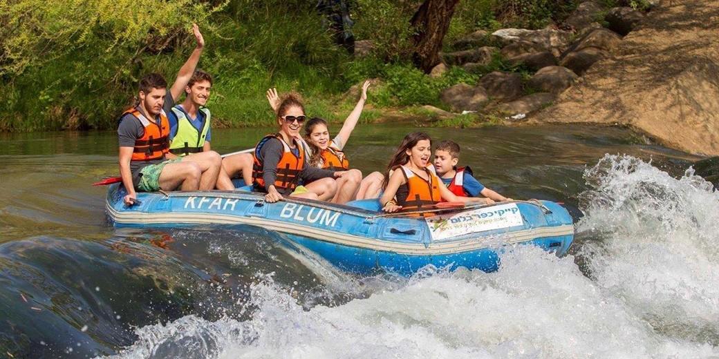 Kfar Blum Kayaks - Yossi Aloni