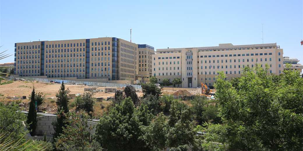 На снимке: здание министерства финансов. Фото: Эмиль Сальман.