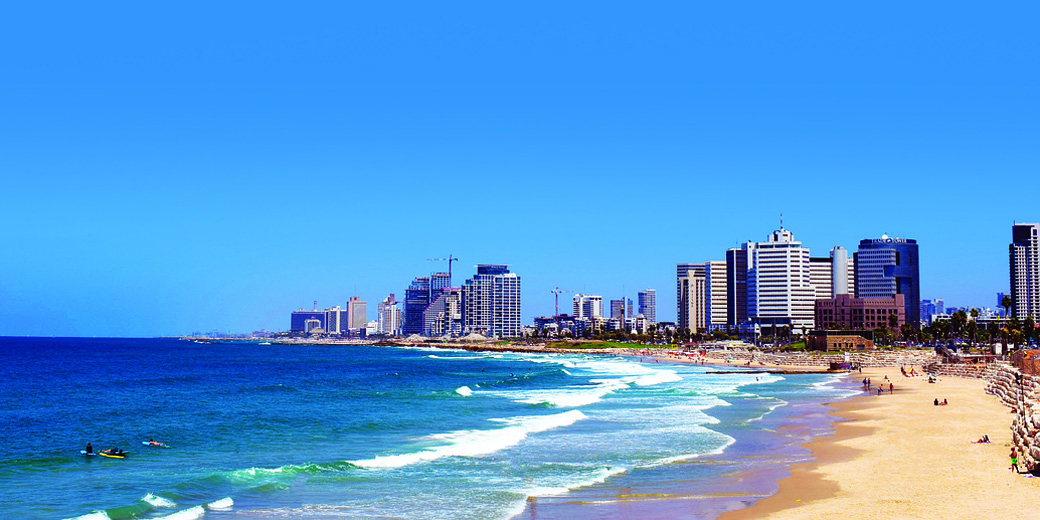 tel-aviv-beach pixabay