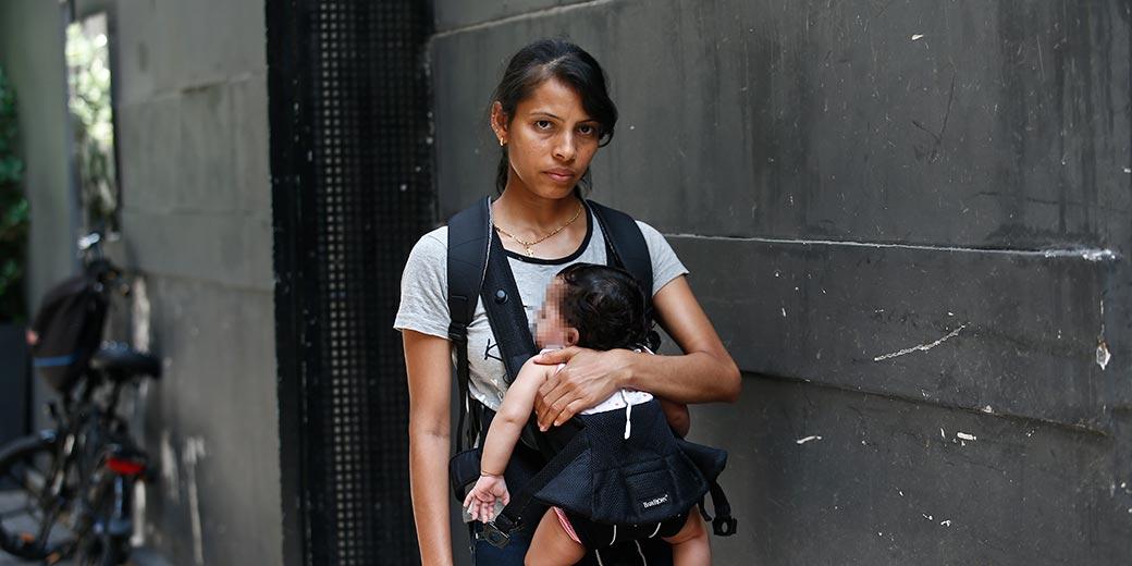 421459ICheril_L_caregiver_baby_deported_Meged_Gozani