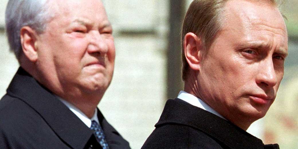 Putin-Yeltsin-RTR3V9X-Itar-Tass-Reuters