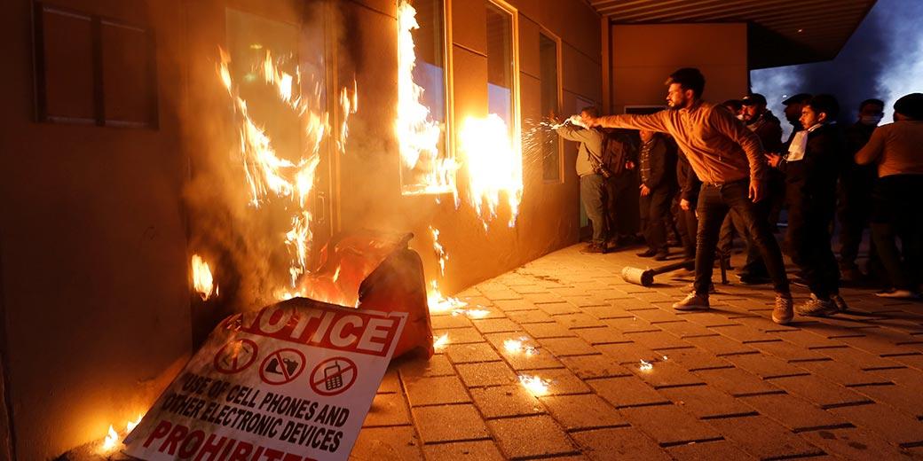 Фото:  Wissm al-Okili Reuters