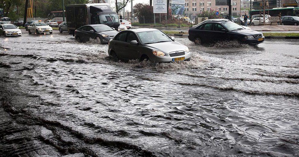 468179_Tel Aviv_Rain_flood_Moti_Milrod