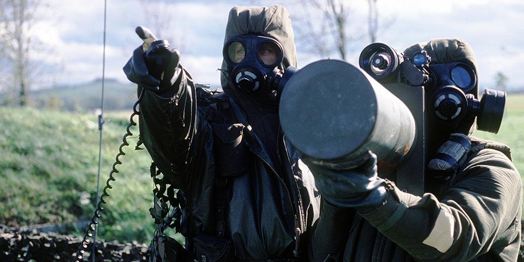 Canadian soldierss in bioprotective suits wiki public