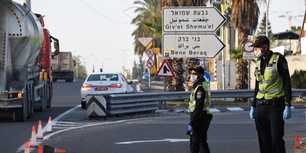 Corona_Police_Bnei-Brak12