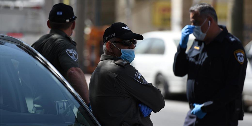 Corona_Police_Bnei-Brak3