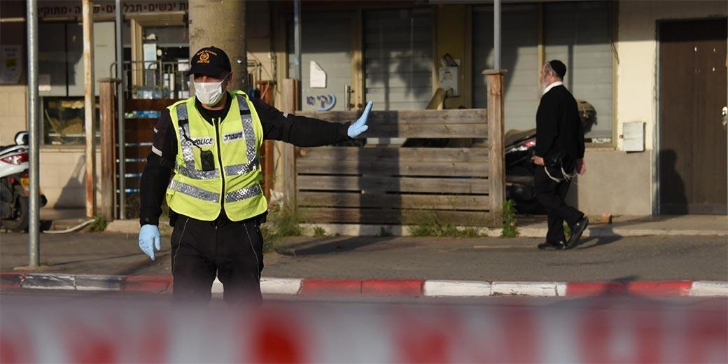 Corona_Police_Bnei-Brak5