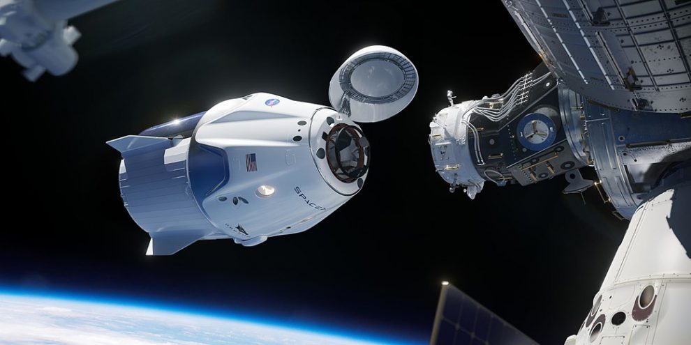 Космический корабль «Crew Dragon» прибыл на МКС | Новости | detaly ...