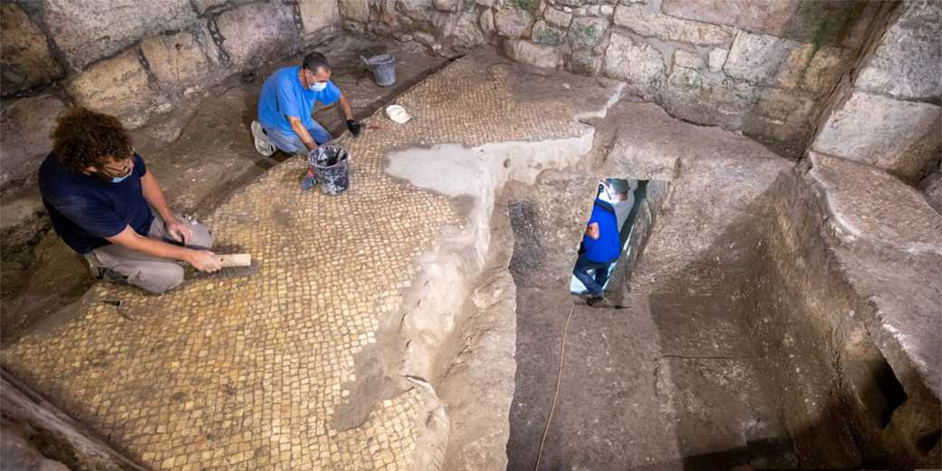 Archeology_Jerusalem_Kotel_Shai_Halevy_Antiquities_Authorities