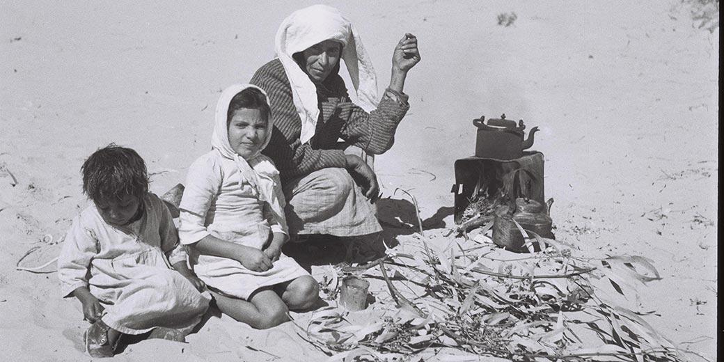 D842-001_Yemenite_family_1945_Rishon_1945_Zoltan_Kluger
