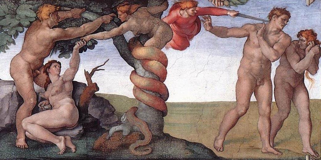 Michelangelo_Sündenfall_Capella_Sistina_Wikipedia public domain