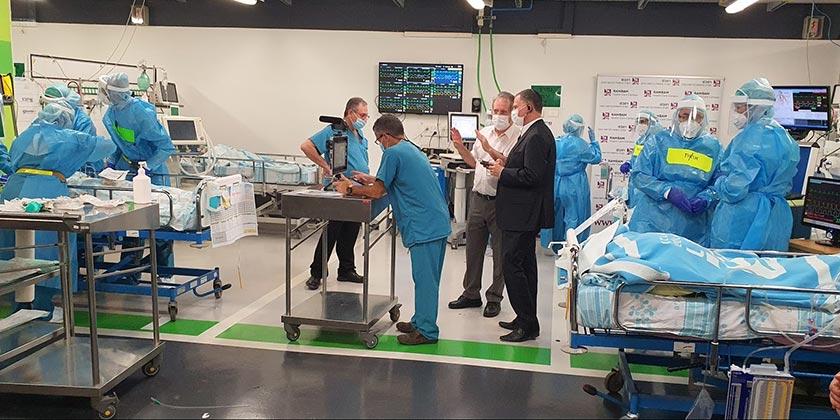 Corona_hospital_Rambam_press-service_Rambam