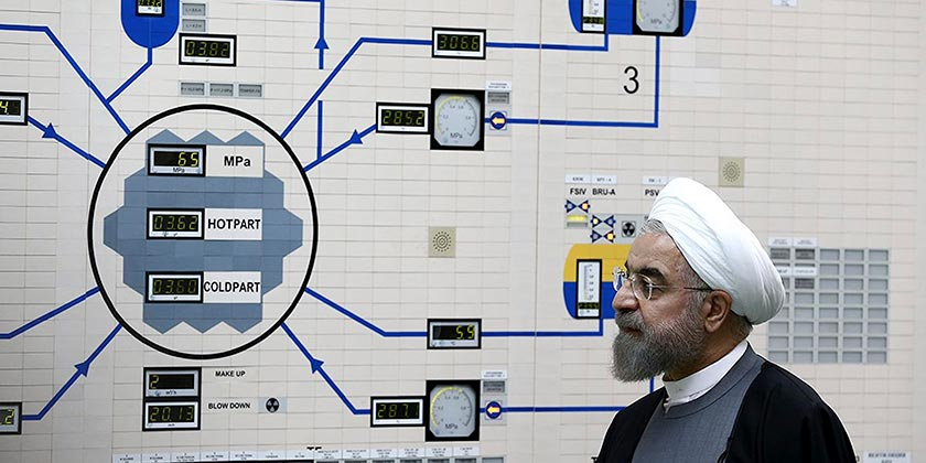 Hassan Rouhani Bushehr nuclear power AP Photo Iranian Presidency Office, Mohammad Berno