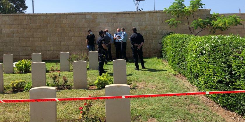 Haifa_cemetary_Police press service