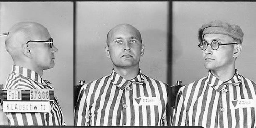 Lev_Rebet_in_Auschwitz