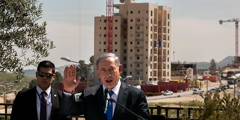 547855_East_Jerusalem_Har_Homa_Netaniahu_Olivier_Fitoussi