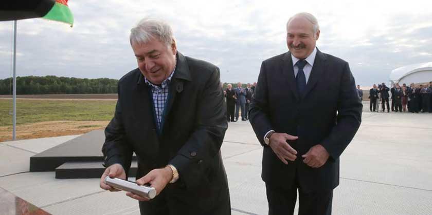Гуцериев и Лукашенко. 11 сентября 2015 года. Фото: пресс-служба президента Беларуси