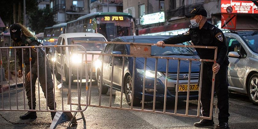 578768_Corona_Police_Avishag_Shaar_Yishuv
