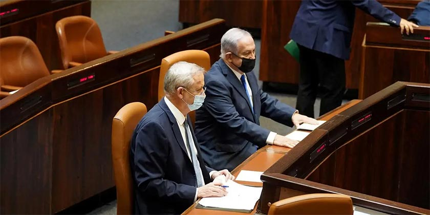 Netanyahu_Gantz_Knesset_Shmulik_Grosman_Knesset