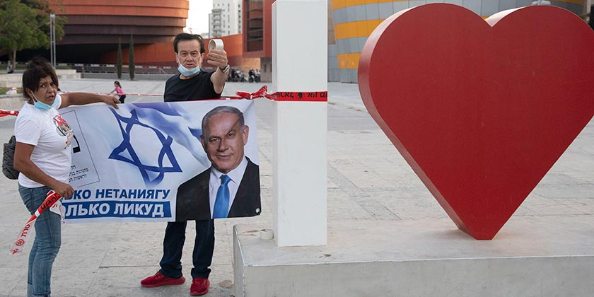588272_Russians_Corona_Netanyahu_Tomer_Appelbaum
