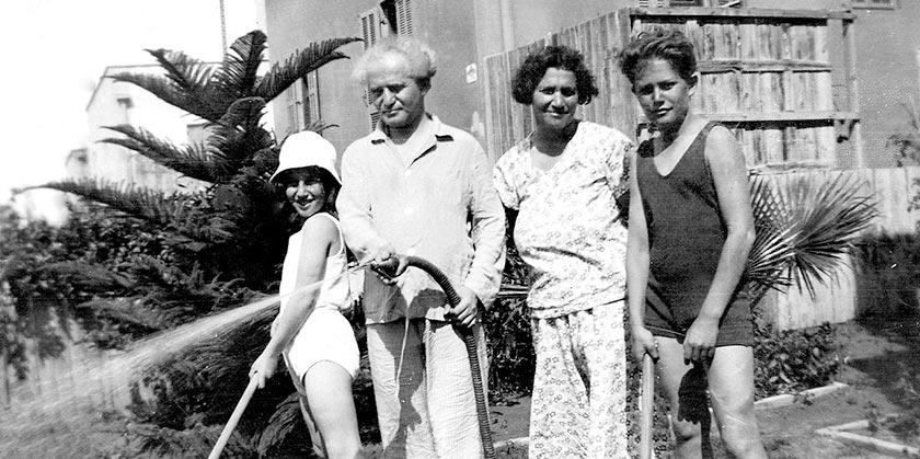 Ben_Gurion_Family_Wikipedia_public_domain