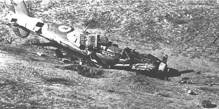 D284-115_Spitfire_Egypt_Negev_Independence_War_GPO