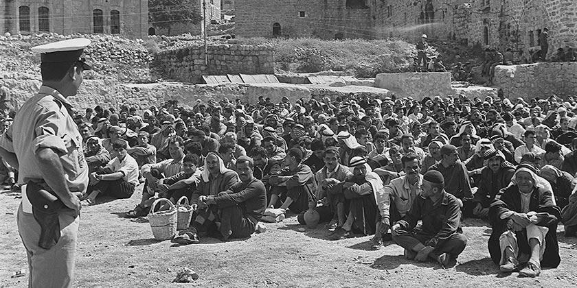 D651-079_Nablus_Police_Arabs_1969_Moshe_Milner_GPO