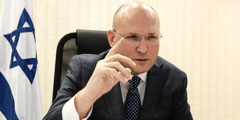 Посол Израиля в Беларуси, Алекс Гольдман-Шайман. Фото: Сергей Сацюк, Navini.by