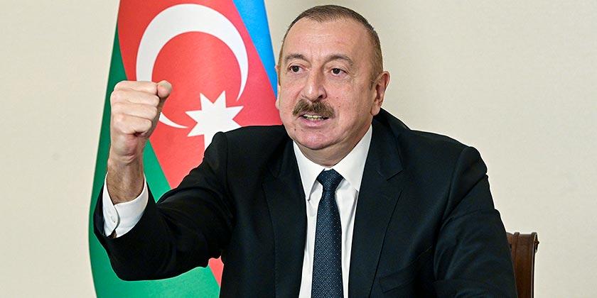 Azerbaijani Presidential Press Office via AP