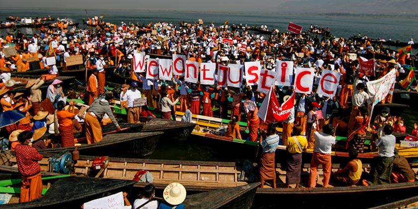AP Photo/Aung Ko San
