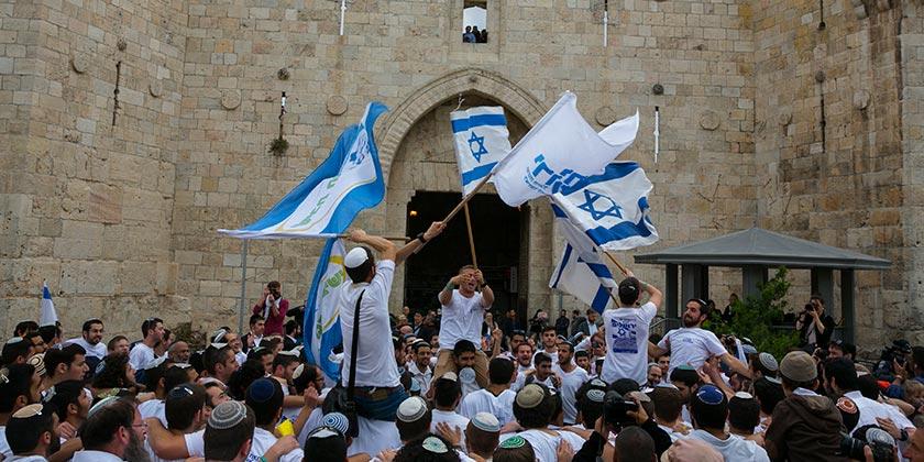372843_Jerusalem_Flag_March_Olivier_Fitoussi