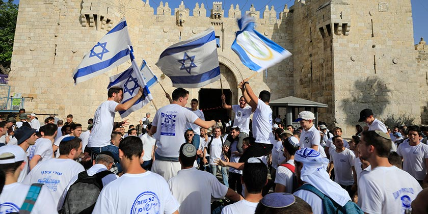 481606_Jerusalem_Flag_March_Olivier_Fitoussi