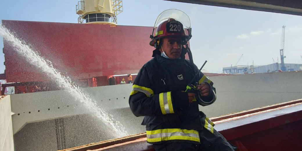 fire haifa press