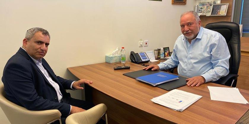 Фото: пресс-служба министра финансов Авигдора Либермана