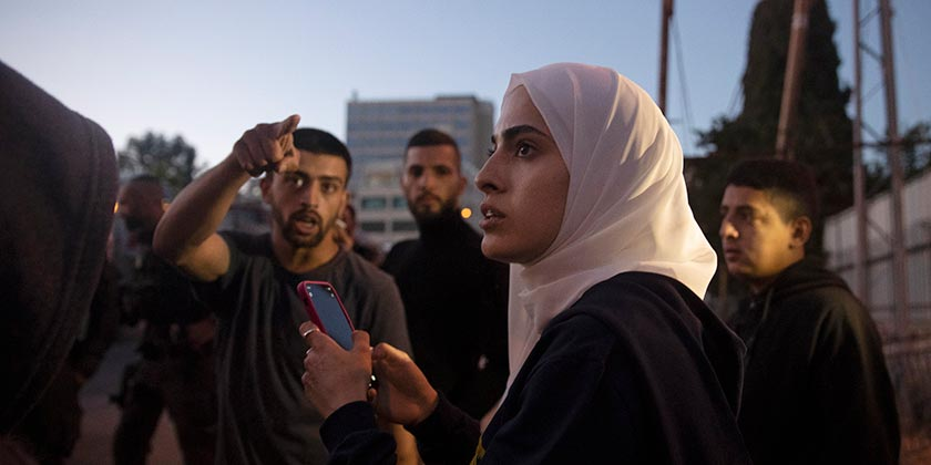Активистка Муна Эль-Курд. AP Photo/Maya Alleruzzo