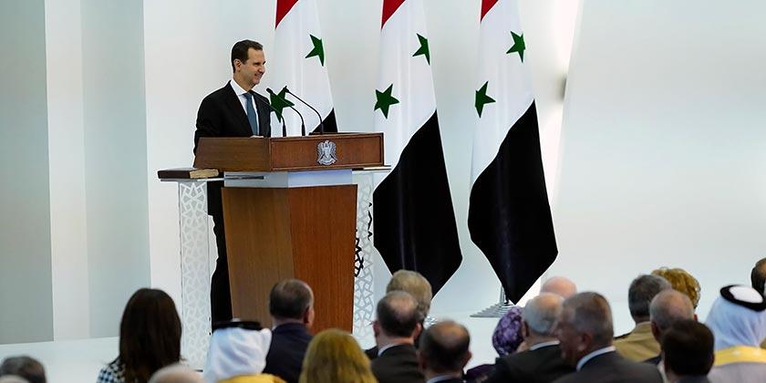 Syrian Presidency via Facebook via AP