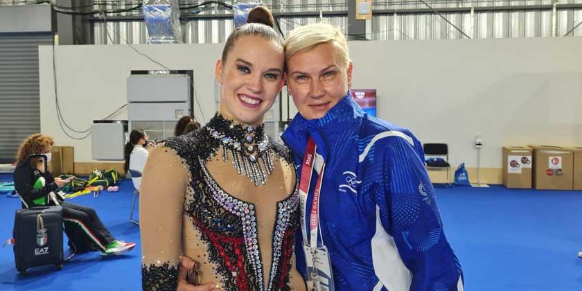 Фото: Натали Бретлер. Предоставлено Ассоциацией художественной гимнастики Израиля