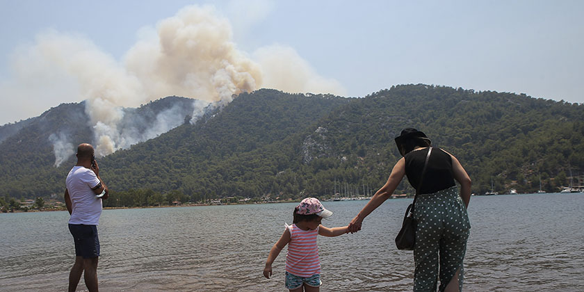AP Photo/Emre Tazegul
