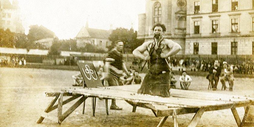 Фото: Зеэв Вильгельм Александрович, АНУ – Музей еврейского народа